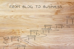 from a blog to business