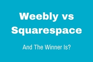 Squarespace versus Weebly comparison