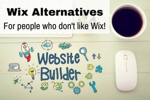 4 website builders that can be used as an alternative to Wix